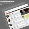 Digital Statement Blogger Template