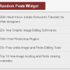 Random Posts Widget for Blogger