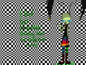 Trippy Wallpaper Invader Zim Fan characters Picture